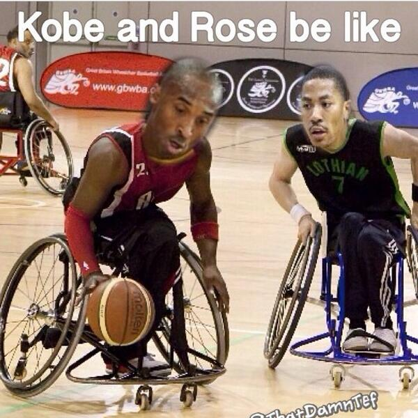 😂😂 Kobe and DRose about to become best friends http://t.co/rJPA6PoFRg