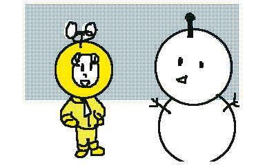 【電波人間のクリスマス:18】 チーム トーキョー@神様はイベルタル さんのイラスト