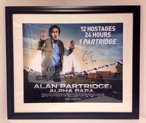 Studio Canal UK - Alpha Papa signed poster competition