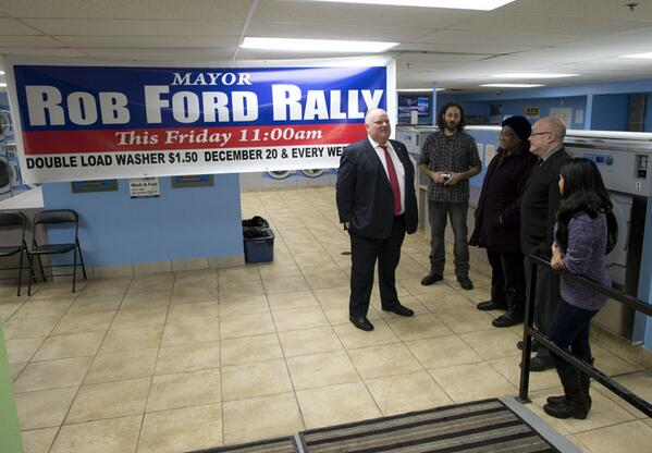 Lucas Oleniuk On Twitter The Robford Rexdale Laundromat Rally Awkward Tco 7IJYCQmnfo
