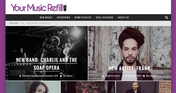 I'm very glad to announce that my music website @urmusicrefill is BACK!   Check out http://t.co/AsSwbacAWO http://t.co/CjcziG1xn5
