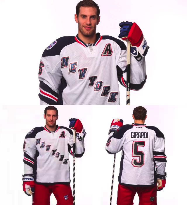 official photos a2878 cd309 2014 New York Rangers Stadium Series Jersey Unveiled ...