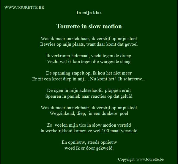 Tourette België På Twitter At Hetkinderpunt Gedicht Over