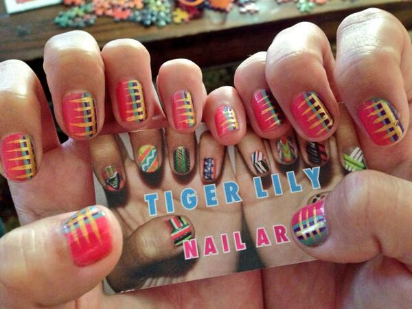 Tiger lily nail art tigerlilynails twitter 0 replies 0 retweets 0 likes prinsesfo Gallery