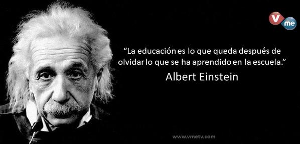 Vme Tv Twitterissä Educación Es Lo Que Queda Después De