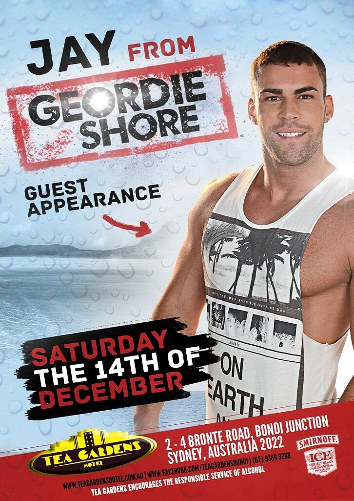 RT @TeaGardensBondi: @JayGShore at @TeaGardensBondi this Sat!! #BringItOn http://t.co/0mprxh8zhA