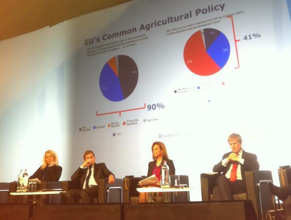 #ttsEU Sólido apoyo social: el 90% de europeos consideran la agricultura importante/muy importante para el futuro. http://t.co/ZokoALPCHY