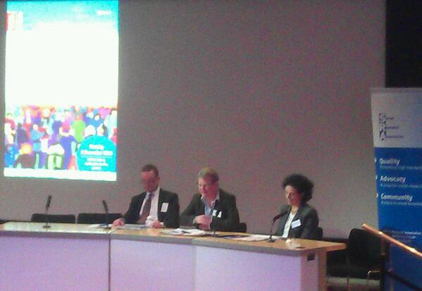 Panel warming to the theme of embracing research evidence at #SRAconf http://t.co/atMAwoaHCJ