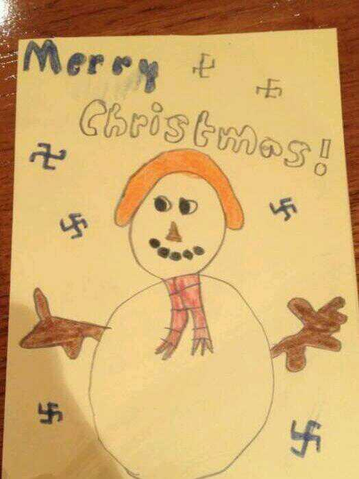 I really need to teach my cousin how to draw snowflakes! http://t.co/xc0kIJDPWj