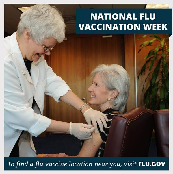 Thumbnail for National Influenza Vaccination Week #NIVW2013