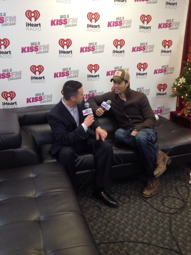 About to go on stage chicago kiss fm jingle ball! http://t.co/iufVbkmCcf