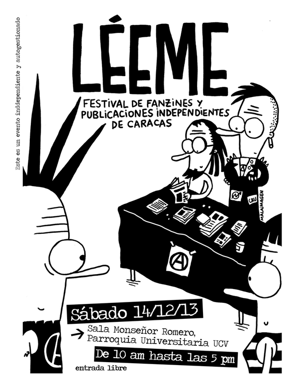 Fanzines LÉEME Caracas