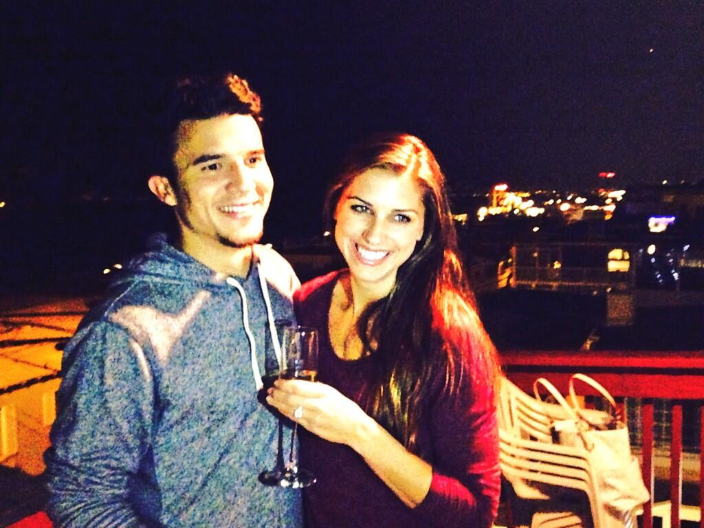 alex morgan engaged servando carrasco