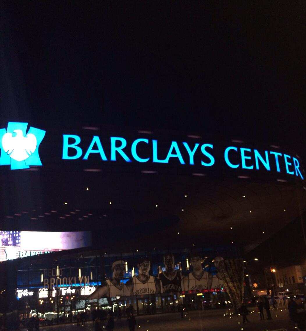 First time @BarclaysCenter . Awesome venue! @Pink show was great..Can't wait to watch a fight here #Brooklyn http://t.co/rFfg5wx7H7