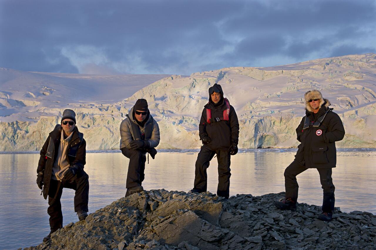 【南極企鵝新聞】金屬製品 Metallica 的南極演唱會~重金屬+搖滾+冰凍世界~
