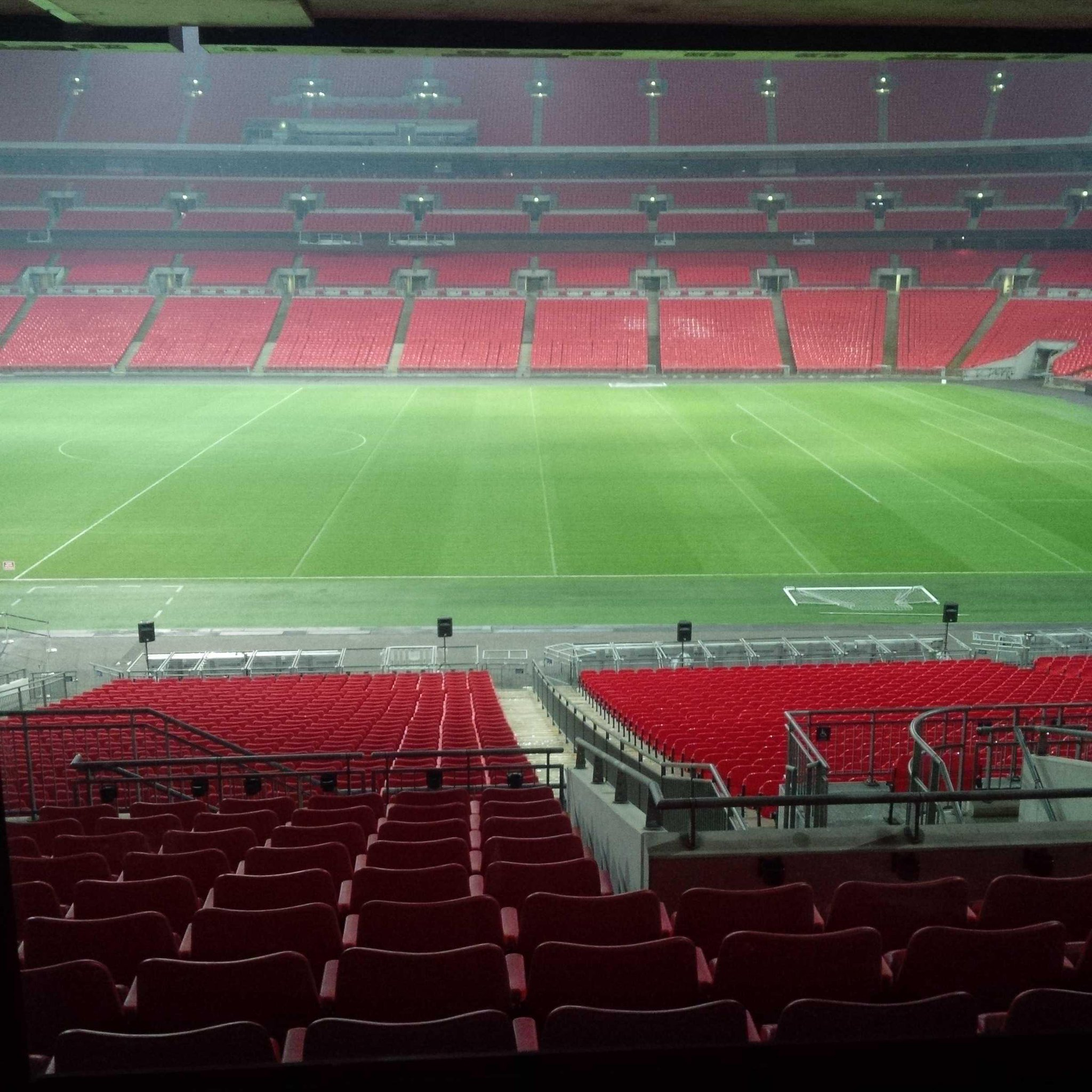 Good morning from Wembley! http://t.co/j35Tcjk5rq