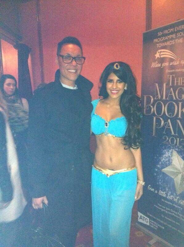 The fashion guru himself @therealgokwan with moi #PrincessJasmin 💙 http://t.co/3NKBsCnfNW