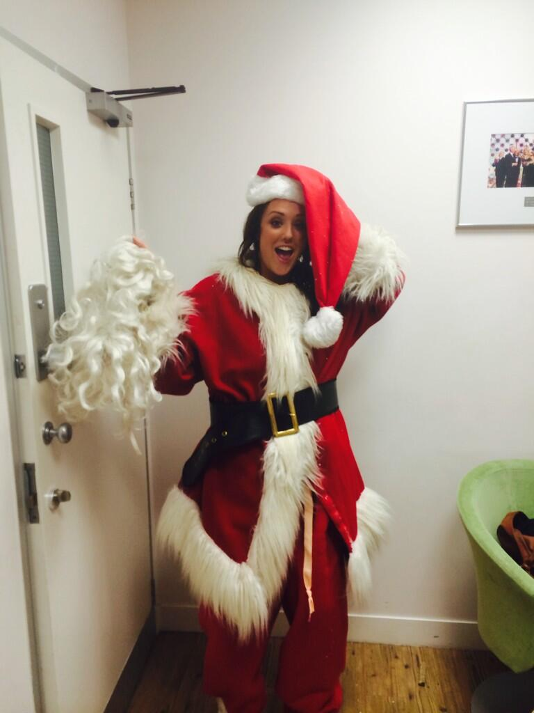 On @itvthismorning and yes I am Santa lmao on the hub soon with @Emma_Willis http://t.co/coetVZJkGa