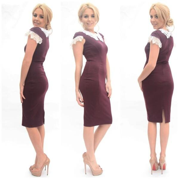 'Victoria' dress in black or berry was:£70 now:£35 limited stock left @bellasorella251 buy> http://t.co/g9AaRdVbsN http://t.co/e9mAmxzTEW