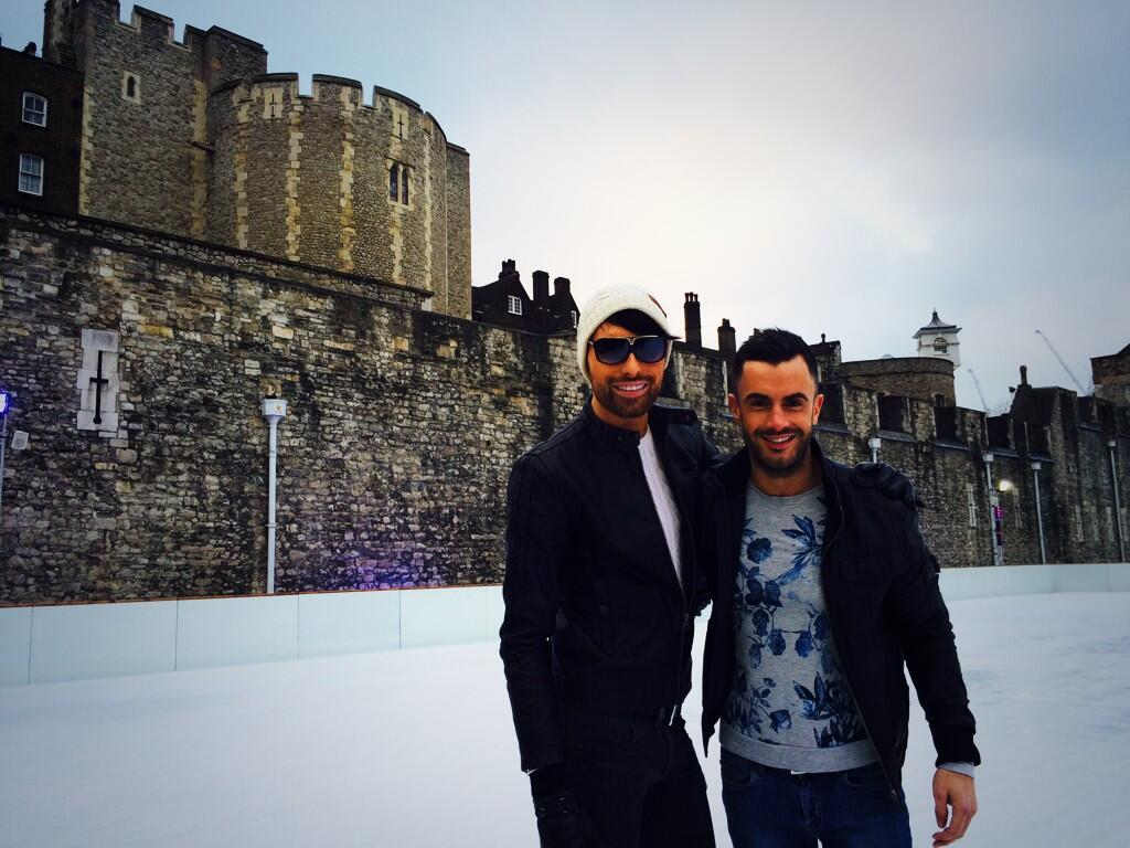 Just been ice skating at Tower of London. #BOLERO x http://t.co/KUfr7HeiR5