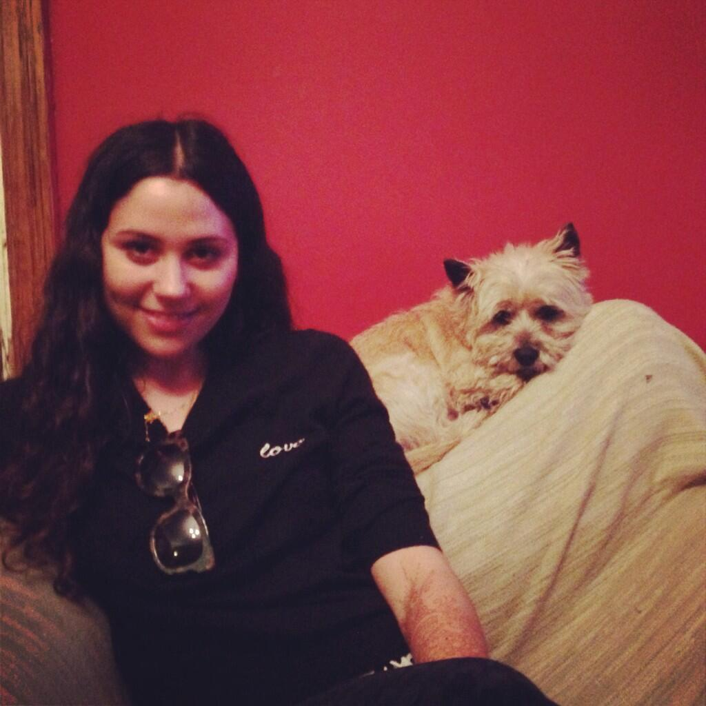 RT @RebeccaCaine: Miss @elizadoolittle and @pupsdeluxe's Sidney http://t.co/zkMiPLhCQF