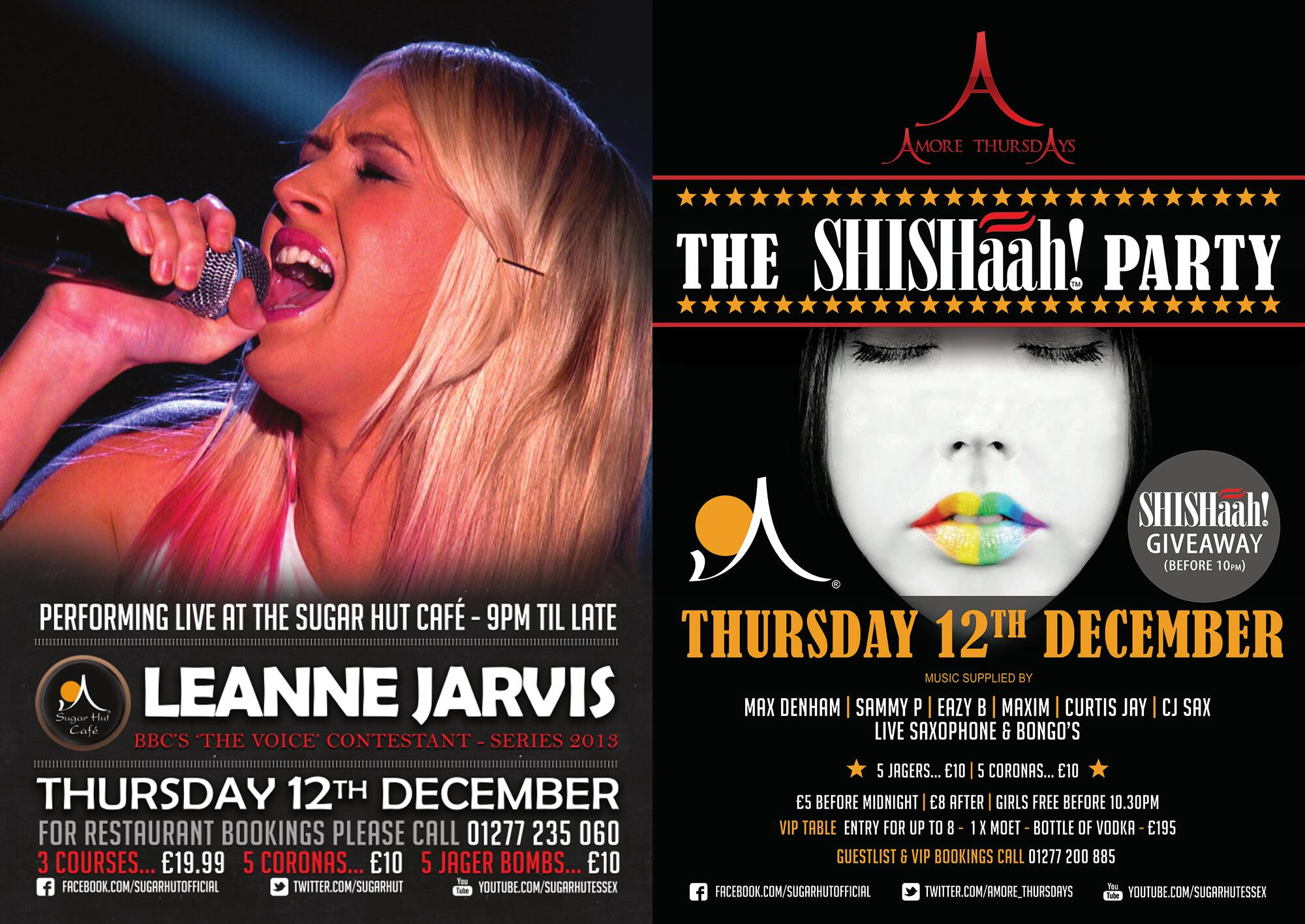 If you fancy listening to a bit of live music this Thursday join @LEANNEJARV & @willschilds In the @SugarHutCafe http://t.co/VR8CWcuwww