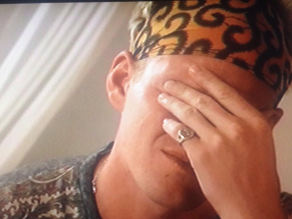 Jamie Laing On Twitter Not Sure What S Worse The Bandana Or Me Crying On Tv Http T Co Cfsu0hctuk
