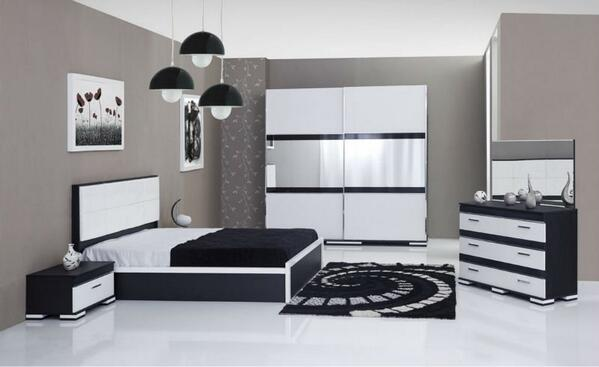 On twitter for Chambre a coucher noir et blanc