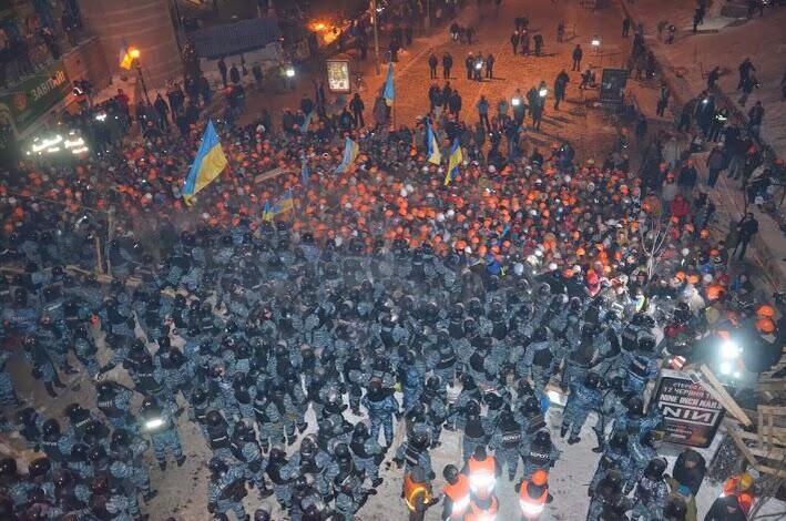 Штурм Майдана в Ночь на 11 декабря