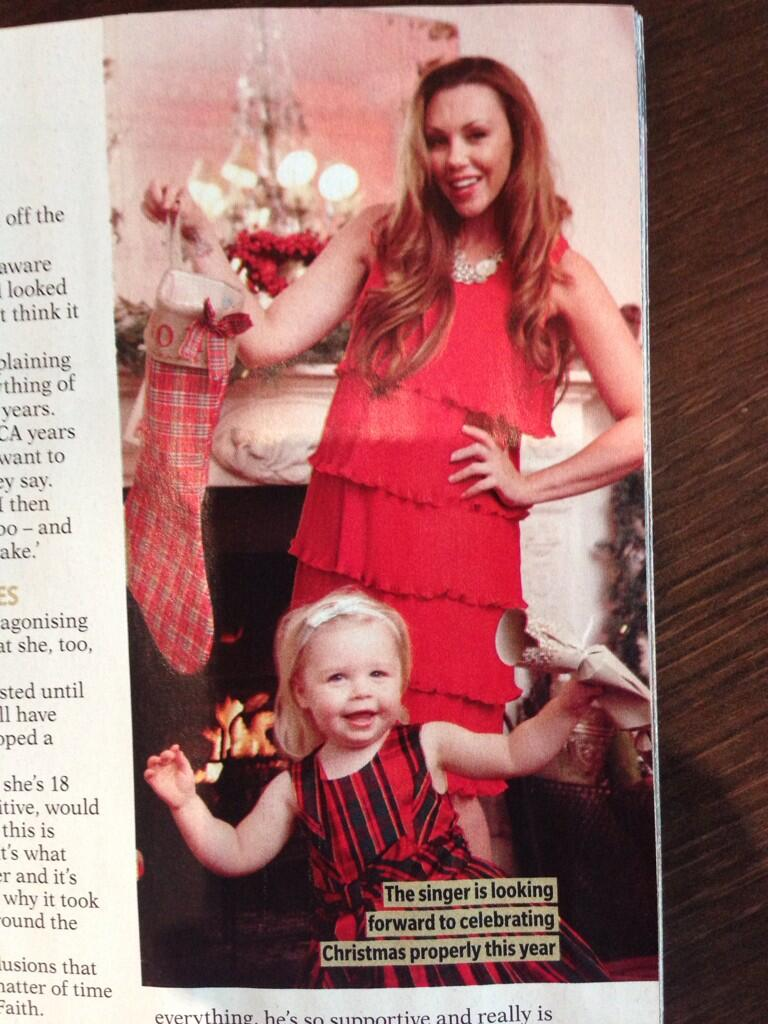 My beautiful stunning happy little girl in @RevealMag this week with mummy .. So so proud of her.. http://t.co/WFhPdK9vFL