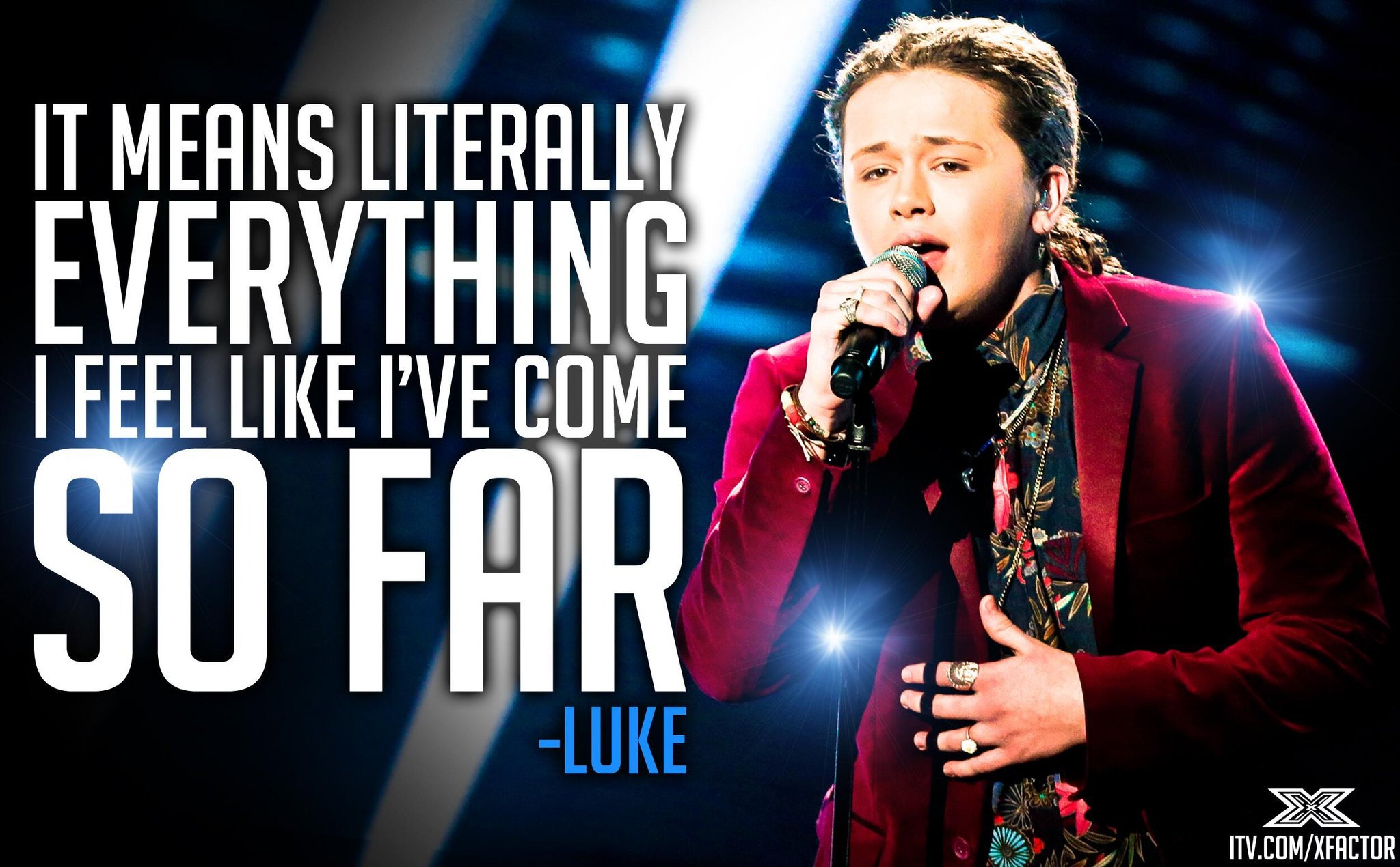 #LukeFriend Day: What winning the #XFactor would mean to @LukeFriendMusic… http://t.co/6YXvXYidtW