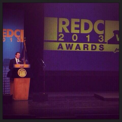 NY Gov. Cuomo at REDC Awards