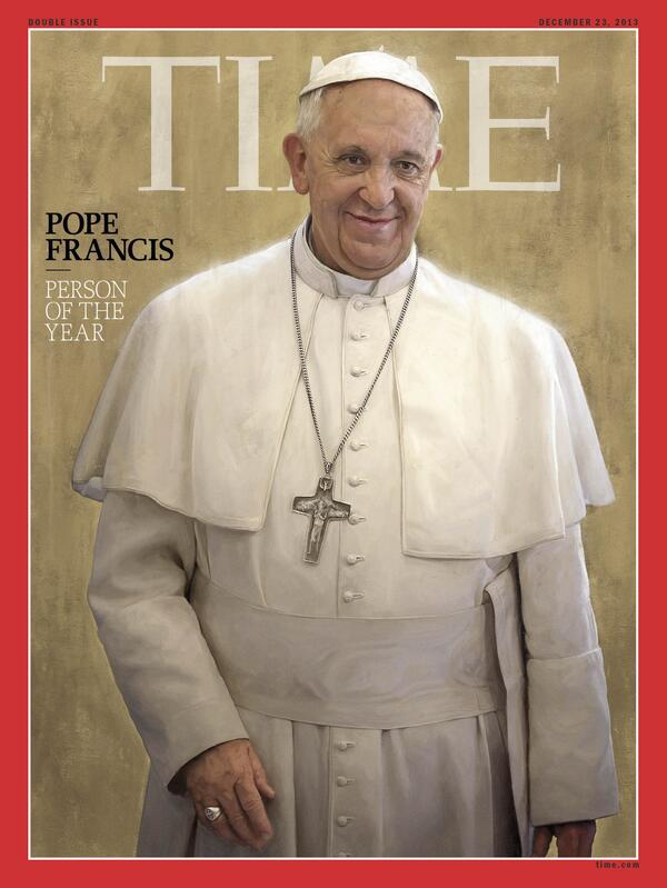 Pope Francis is TIME's Person of the Year for 2013 http://t.co/AXKIlnqqjr #TIMEPOY http://t.co/xO9K2lDxxf