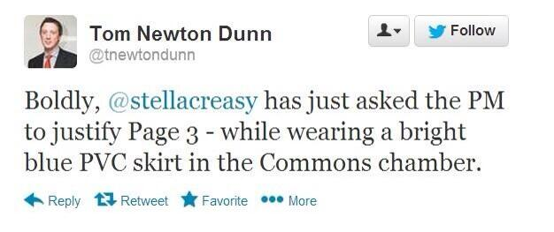 What a twassock RT @louisebrealey: Ah, this is brilliant. Journalistic gold from The Sun's Tom Newton Dunn: http://t.co/NxSLn4uAP7