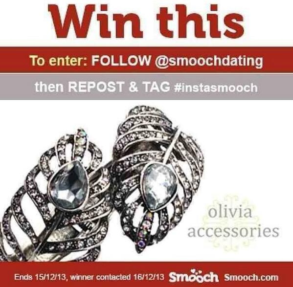 Have you entered our Instagram comp yet? #instasmooch #comp #win #prize #jewellerypic.twitter.com/FwVDwOGYvq