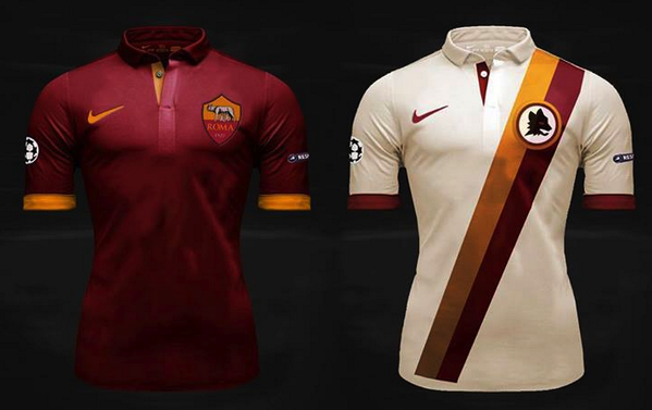 BbN oQsCIAA7QQV Romas beautiful new kits revealed for the 2014/15 season [Pictures]