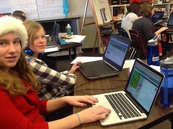 Students are loving #HourOfCode http://t.co/mdSa7Kd2bo