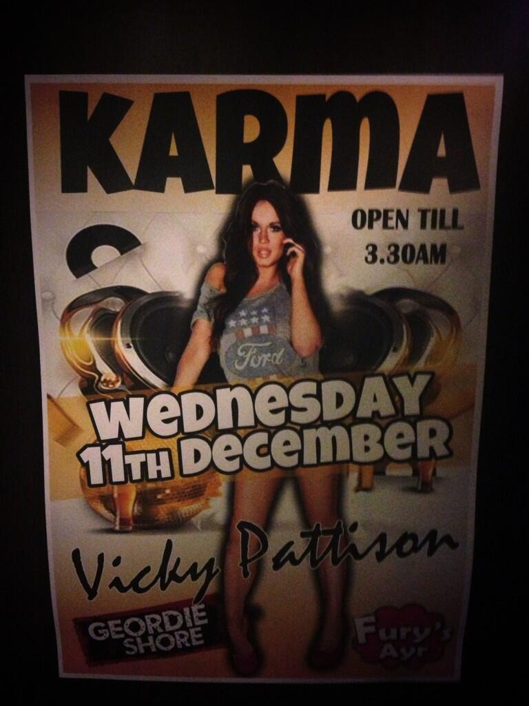Boom... Rocking #karmawednesdays in @FurysAyr!! #havingit http://t.co/Fgod92FnBe