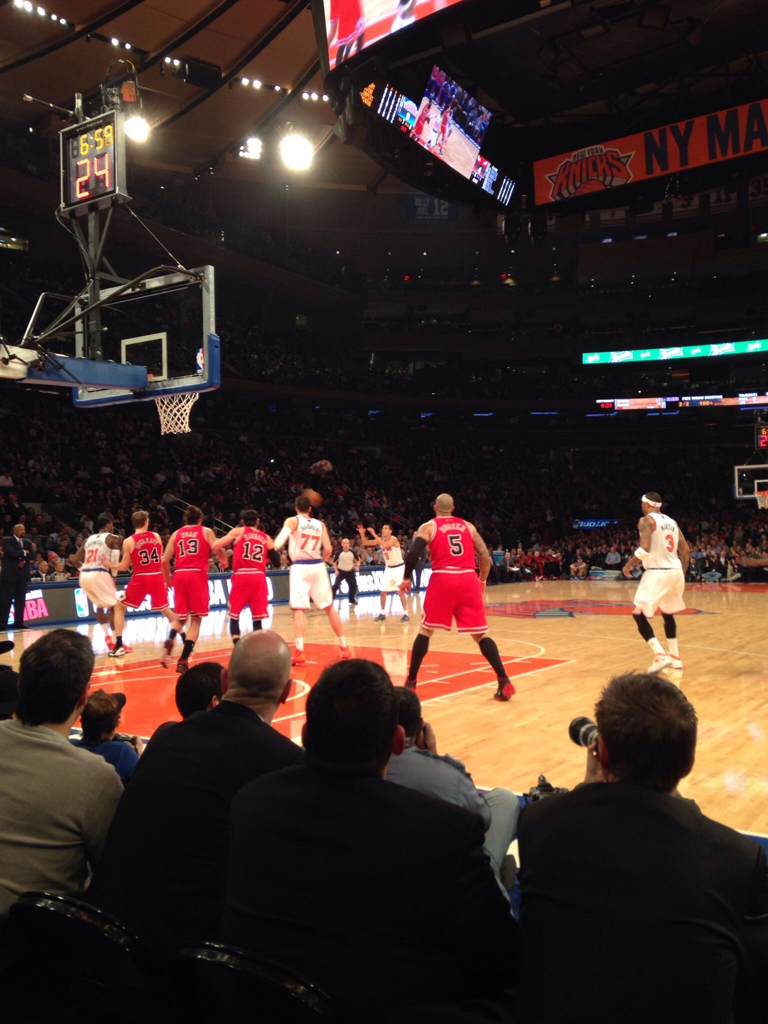 Damn, this is fun #KNICKS http://t.co/4r2d1h1eoA