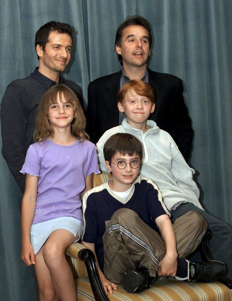 RT @HistoryInPics: Harry Potter cast announced 2000 http://t.co/5SsDDmbbtV