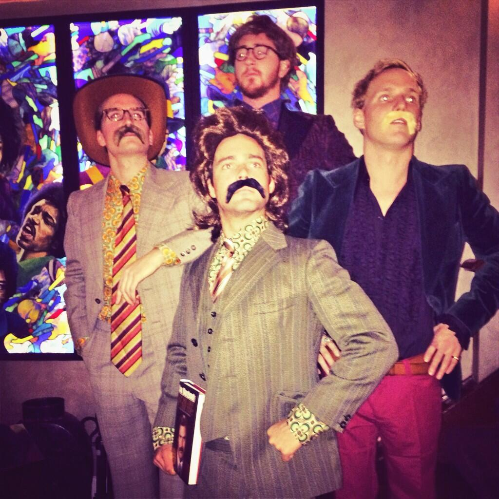 Epic time at the Anchorman 2 premiere with the boys.. #NewsTeamAssemble http://t.co/ARVixy4big