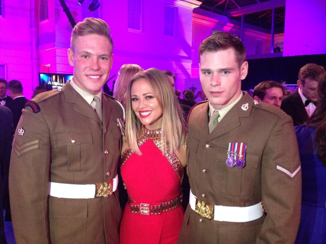 Met some real life heroes tonight #themillies http://t.co/mphLqxSnFO
