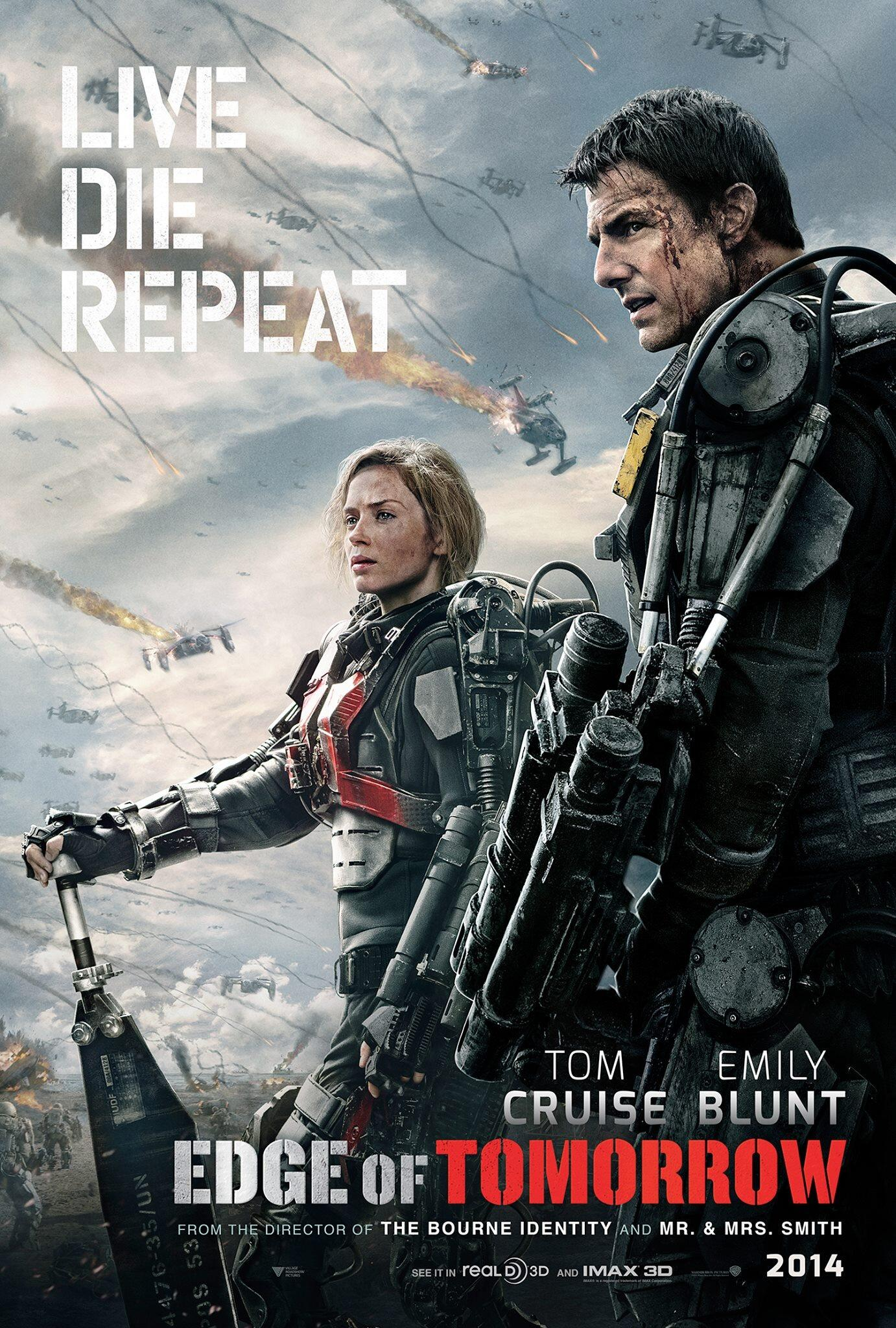 Official #EdgeOfTomorrow http://t.co/mc5UIxNMws @EdgeofTomorrow @EmbeddedUDF http://t.co/uAlzZJZWFa #LiveDieRepeat http://t.co/Seye0L64Tr