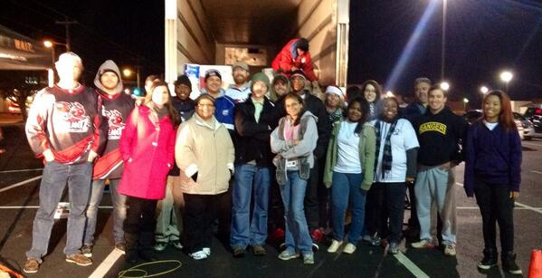 We reached our goal!! 6 million lbs. of food! Thank you for stepping up for our #HeartofCarolina food drive! http://t.co/9Ns8Nt6Y9W