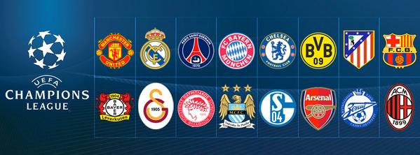Barcelona Vs Man City Logo: Last-16 CL Draw Odds: Arsenal Vs Bayern, Man United Vs