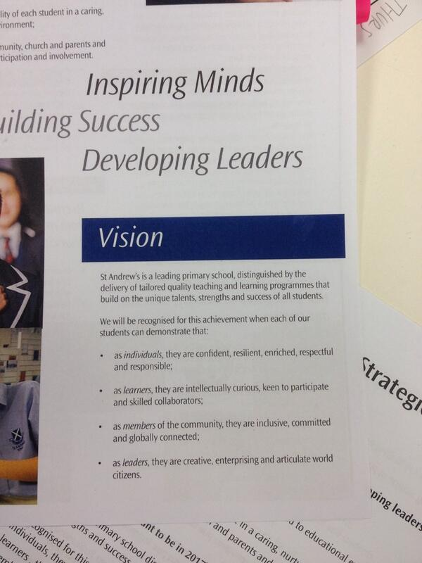 Q1 What does this vision mean to you? #sasvisionyear6 http://t.co/BSI8QkJahf