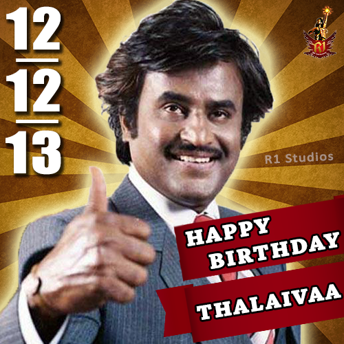 Rajini Fans 2 0 On Twitter Happy Birthday Superstar Rajinikanth