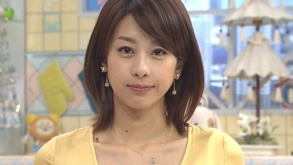 めざましテレビの時の加藤綾子