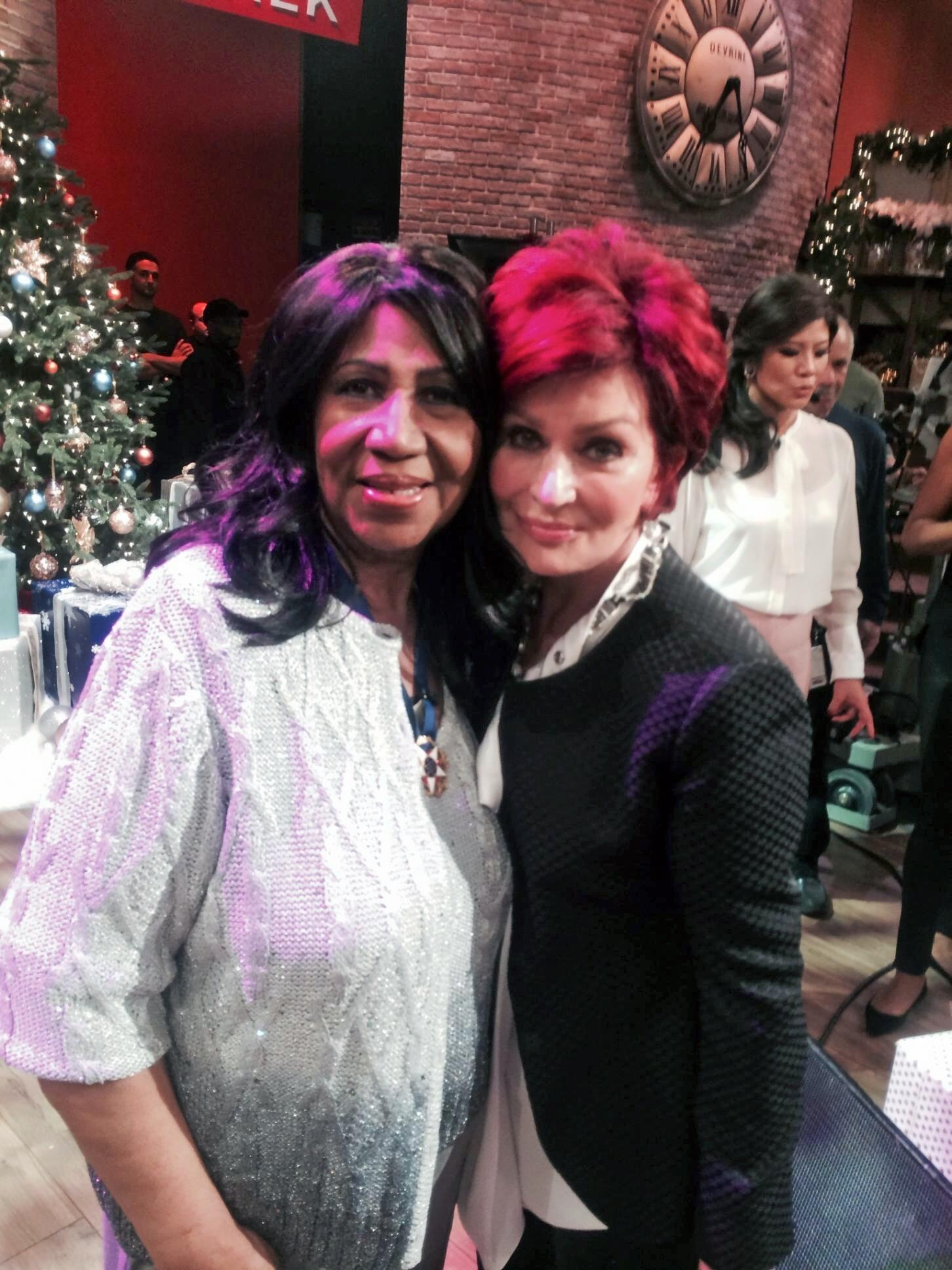 With the Queen of Soul, @ArethaFranklin! http://t.co/8peTzUOIss