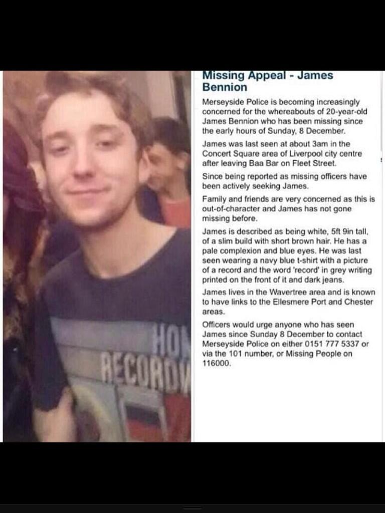RT @amelia_roberts1: @MrPeterAndre please will you RT our friend is missing an we need to spread the word http://t.co/GcnZZobYRW